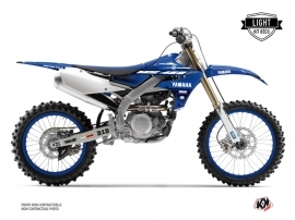 Yamaha 450 YZF Dirt Bike Basik Graphic Kit Blue LIGHT