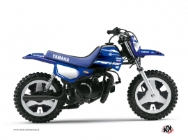 Kit Déco Moto Cross Basik Yamaha PW 50 Bleu