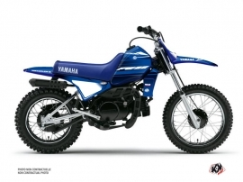 Kit Déco Moto Cross Basik Yamaha PW 80 Bleu
