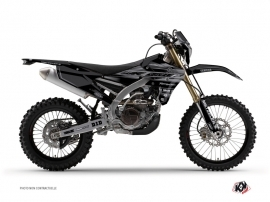 Kit Déco Moto Cross Black Matte Yamaha 250 WRF Noir