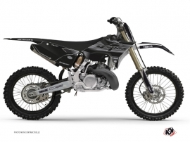 Kit Deco Dirt Bike Black Matte Yamaha 250 YZ RTECH Revolution Black