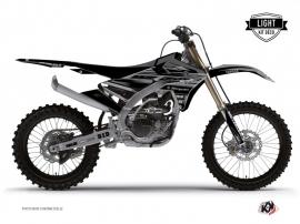 Kit Déco Moto Cross Black Matte Yamaha 250 YZF Noir LIGHT