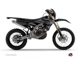 Kit Déco Moto Cross Black Matte Yamaha 450 WRF Noir