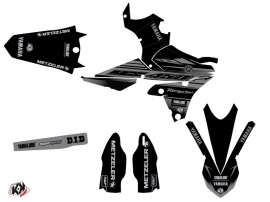 Kit Déco Moto Cross Black Matte Yamaha 450 YZF Noir LIGHT