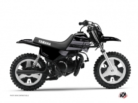 Kit Déco Moto Cross Black Matte Yamaha PW 50 Noir