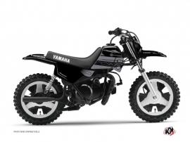 Kit Déco Moto Cross Black Matte Yamaha PW 50 Noir