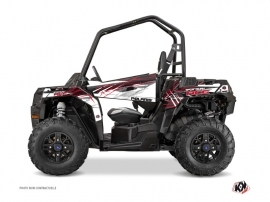 Polaris ACE 325-570-900 UTV Blade Graphic Kit Red
