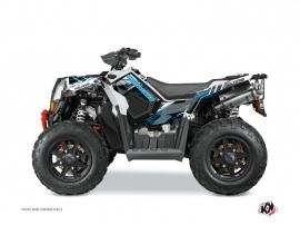 Polaris Scrambler 850-1000 XP ATV Blade Graphic Kit Blue