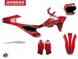GASGAS MC 125 Dirt Bike Border Graphic Kit Black