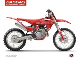 Kit Déco Moto Cross Border GASGAS MCF 450 Rouge