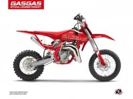 GASGAS MC 65 Dirt Bike Border Graphic Kit Red