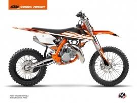 Kit Déco Moto Cross Breakout KTM 85 SX Orange Blanc