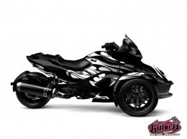 Kit Déco Burn Can Am Spyder RS Gris