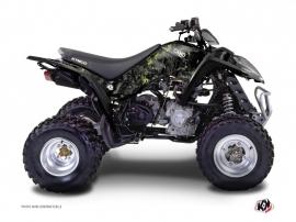 Kymco 300 MAXXER ATV Camo Graphic Kit Black Green