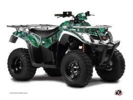 Kymco 300 MXU ATV Camo Graphic Kit Green