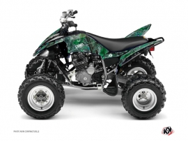 Yamaha 250 Raptor ATV Camo Graphic Kit Green