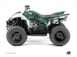 Yamaha 350-450 Wolverine ATV Camo Graphic Kit Green