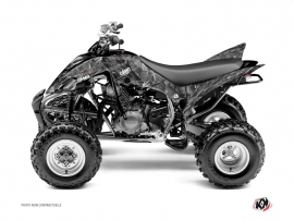 Yamaha 350 Raptor ATV Camo Graphic Kit Grey
