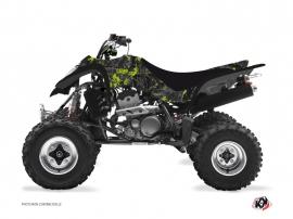 Kit Déco Quad Camo Kawasaki 400 KFX Noir Vert