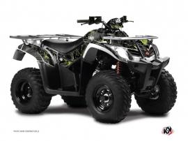 Kit Déco Quad Camo Kymco 400 MXU Noir Vert