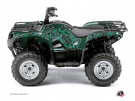 Yamaha 450 Grizzly ATV Camo Graphic Kit Green