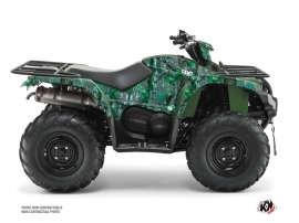 Yamaha 450 Kodiak ATV Camo Graphic Kit Green