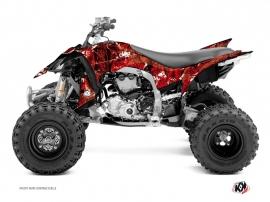 Kit Déco Quad Camo Yamaha 450 YFZ R Rouge