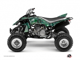 Yamaha 450 YFZ ATV Camo Graphic Kit Green