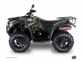 Kit Déco Quad Camo Kymco 550 MXU Noir Vert