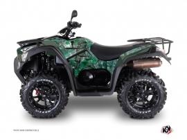 Kymco 700 MXU ATV Camo Graphic Kit Green