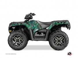 Kit Déco Quad Camo Polaris 550-850-1000 Sportsman Forest Vert