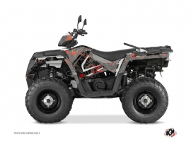Kit Déco Quad Camo Polaris 570 Sportsman Forest Noir Rouge