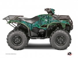 Yamaha 700-708 Kodiak ATV Camo Graphic Kit Green