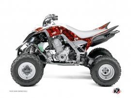 Kit Déco Quad Camo Yamaha 700 Raptor Rouge