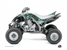 Yamaha 700 Raptor ATV Camo Graphic Kit Green