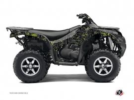 Kit Déco Quad Camo Kawasaki 750 KVF Noir Vert