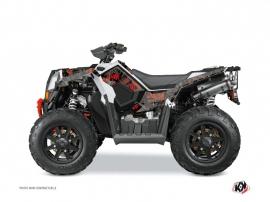 Kit Déco Quad Camo Polaris Scrambler 850-1000 XP Noir Rouge