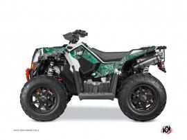 Polaris Scrambler 850-1000 XP ATV Camo Graphic Kit Green