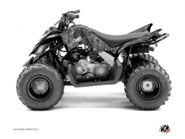Yamaha 90 Raptor ATV Camo Graphic Kit Grey