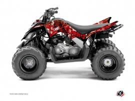 Kit Déco Quad Camo Yamaha 90 Raptor Rouge