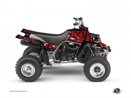 Yamaha Banshee ATV Camo Graphic Kit Red