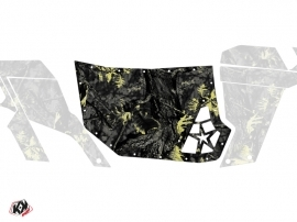 Graphic Kit Doors Suicide Blingstar Camo Can Am Commander 2011-2017 Black Yellow