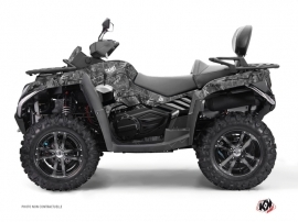 CF MOTO CFORCE 800 S ATV Camo Graphic Kit Grey