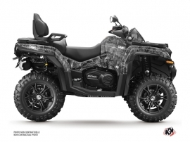 CF MOTO CFORCE 800 XC ATV Camo Graphic Kit Grey