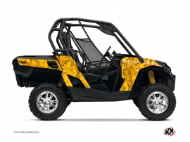 Can Am Commander UTV Camo Graphic Kit Yellow