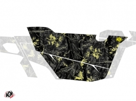 Kit Déco Portes Cabine Defender Camo Can Am Commander 2011-2017 Noir Jaune