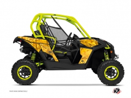 Can Am Maverick UTV Camo Graphic Kit Yellow