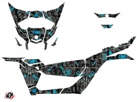 Kit Déco SSV Camo Can Am Maverick X3 Noir Bleu