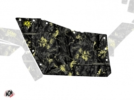 Graphic Kit Doors Origin Polaris Camo UTV Polaris RZR 570/800/900 2008-2014 Black Yellow
