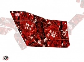 Kit Déco Portes Origine Polaris Camo SSV Polaris RZR 570/800/900 2008-2014 Rouge